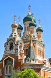 Cathédrale orthodoxe russe Photo libre de droits