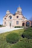 Cathédrale orthodoxe serbe de rue Elijah photos stock