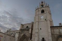 cathédrale palencia Photographie stock libre de droits