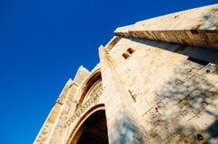 Cathédrale patriarcale de St Mary Major, Santa Maria Maior de Lisboa ou expert en logiciel De Lisbonne, à Lisbonne, le Portugal photos stock
