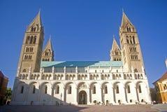 Cathédrale, Pecs, Hongrie Photographie stock