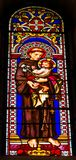 Cathédrale Pise Ital d'Anthony Padua Stained Glass Baptistery de saint images stock