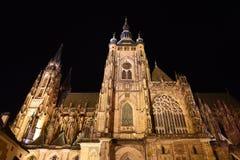 cathédrale Prague de château Photo libre de droits