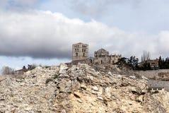 Cathédrale romane historique Zamora l'Europe Photo stock