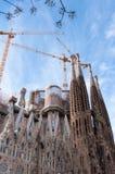 Cathédrale sainte de famille à Barcelone Image libre de droits