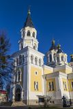Cathédrale sainte de Transfiguration Zhitomir Zhytomyr l'ukraine images stock