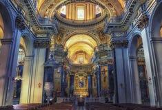 Cathédrale Sainte-reparate à Nice photo stock