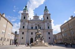 Cathédrale - Salzbourg, Autriche photo libre de droits