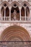Cathédrale San Giorgio de Ferrare Images stock