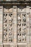 Cathédrale Santiago de Compostela Photos libres de droits