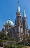 Cathédrale Sao Paulo Brésil d'expert en logiciel Images stock