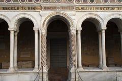 Cathédrale St Paul hors des murs Rome photographie stock libre de droits