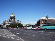 Cathédrale St Petersburg de St Isaac La capitale de mer de la Russie Détails et plan rapproché photos stock