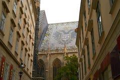Cathédrale St.Stephan Vienne Autriche de Vienne photos stock