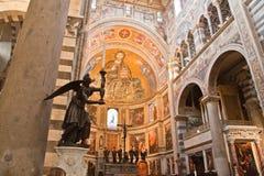 Cathédrale Toscane Italie de Pise Images libres de droits
