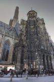 Cathédrale Vienne de rue Stephens Photographie stock