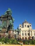 Cathédrale viennoise extérieure avec des couleurs exquises Photographie stock