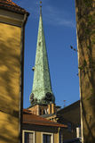 Cathédrales de Riga images libres de droits