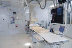 Cath Lab en hospital moderno Foto de archivo libre de regalías