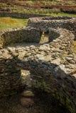 Cathair Deargain stenfästning dingle ireland Arkivbilder