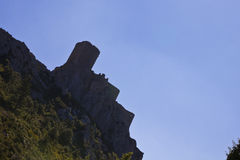 Cathar castle Stock Images