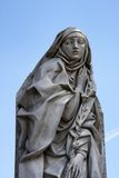 Catharina Da Siena Statue in Rome Stock Images