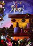Catharsis - Verhoging van Avatar (2014) stock illustratie