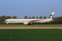 Cathay Pacific fotografie stock libere da diritti