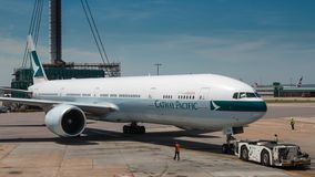 Cathay Pacific стоковые фотографии rf