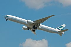 Cathay Pacific Airline Royalty Free Stock Photo