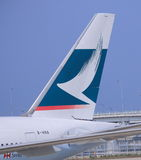 Cathay Pacific airlines Stock Photography