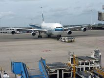 Cathay Pacific. Airlines at Amsterdam Airport Schiphol Stock Photos