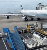 Cathay Pacific. Airlines at Amsterdam Airport Schiphol Stock Photography