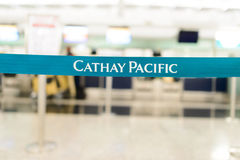 Cathay Pacific belt Royalty Free Stock Photos