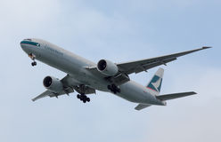 Cathay Pacific Boeing 777 foto de stock