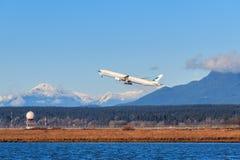 Cathay Pacific samolot Fotografia Stock