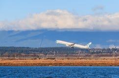 Cathay Pacific samolot Fotografia Royalty Free