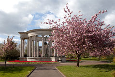 Cathays Park in spring Stock Image