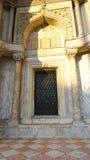 Cathdral fönster för San makro royaltyfria foton