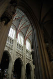 Cathdral Saint Jan Den Bosch. The interior of the Cathdral of Saint Jan in Den Bosch (Holland Stock Photography