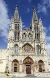 Cathédrale à Burgos, Espagne Image libre de droits