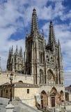 Cathédrale à Burgos, Espagne Photo libre de droits