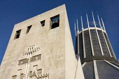 Cathédrale catholique de Liverpool - Angleterre Images stock
