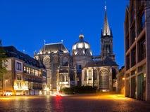 Cathédrale d'Aix-la-Chapelle Photographie stock