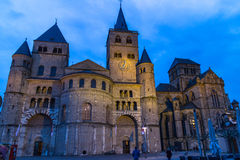 Cathédrale dans le Trier, Allemagne Photo stock