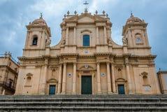 Cathédrale dans Noto Photographie stock libre de droits
