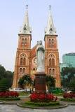 Cathédrale de basilique de Saigon Notre Dame, Vietnam Image libre de droits
