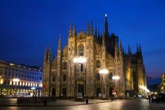 Cathédrale de Duomo à Milan, Italie Photographie stock libre de droits