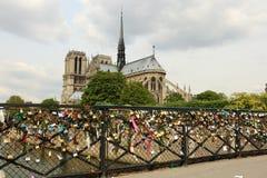 Cathédrale de Notre Dame de Paris Photo libre de droits