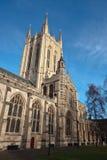 Cathédrale de rue Edmunds d'enfouissement Images libres de droits
